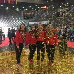 Vizeweltmeister 2016 - Siegerehrung