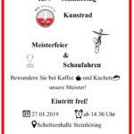 Flyer Meisterfeier 2019